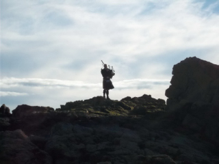Piper at the Black Rock